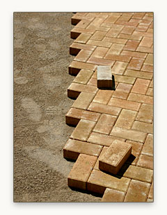 Do it yourself brick paver installation instructions enhance tools needed solutioingenieria Choice Image