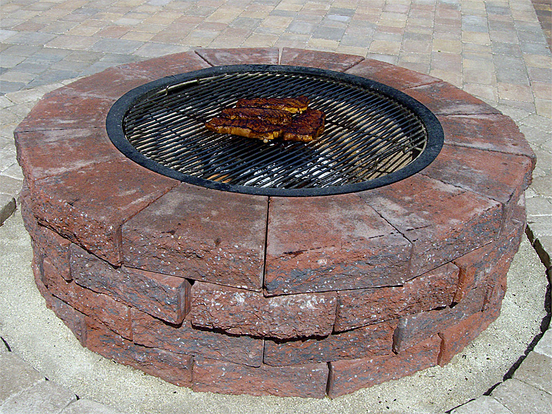 Firepit Recipe & Cooking Guide - Do-It-Yourself Fire Pit Installation Instructions And Grill Kit
