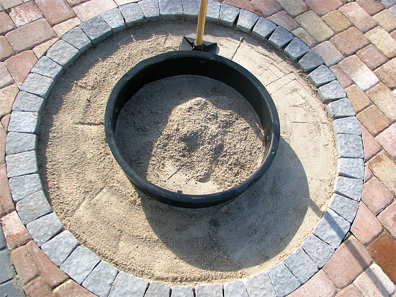 Do It Yourself Fire Pit Installation Instructions And Grill Kit Recipes Enhance Companies