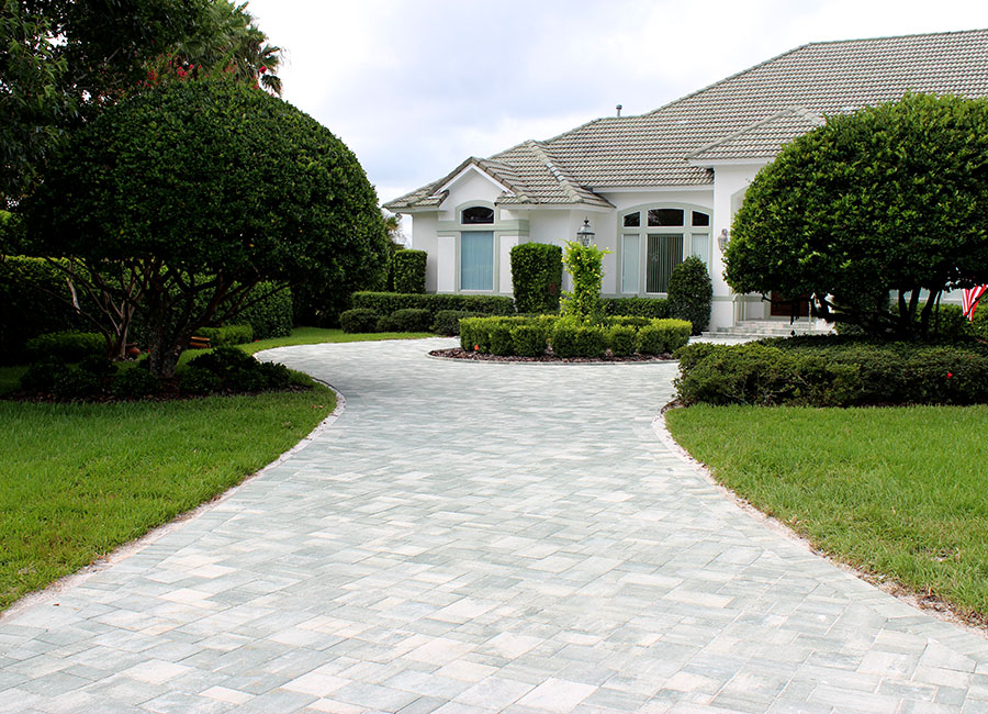 Brick paver before and after idea photo gallery enhance companies concrete driveway replacement paver driveway before solutioingenieria Gallery