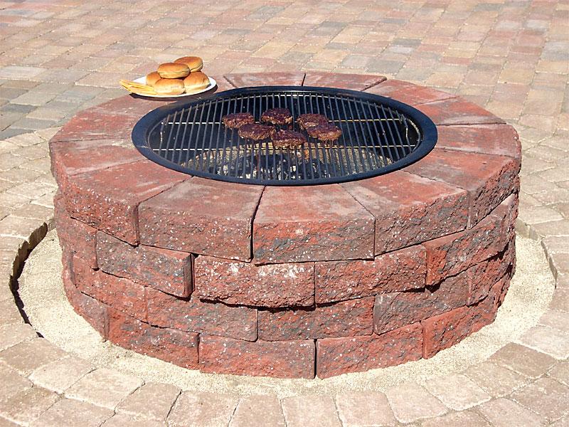 How many bricks do I need to build a fire pit? | Yahoo Answers