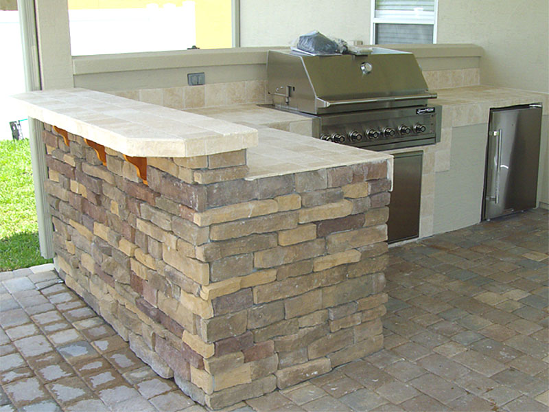 Kitchens Idea | Outdoor Kitchens And Summer Kitchens Idea Photo Gallery Enhance