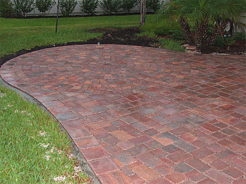 Idea Gallery   Brick Paver Patios