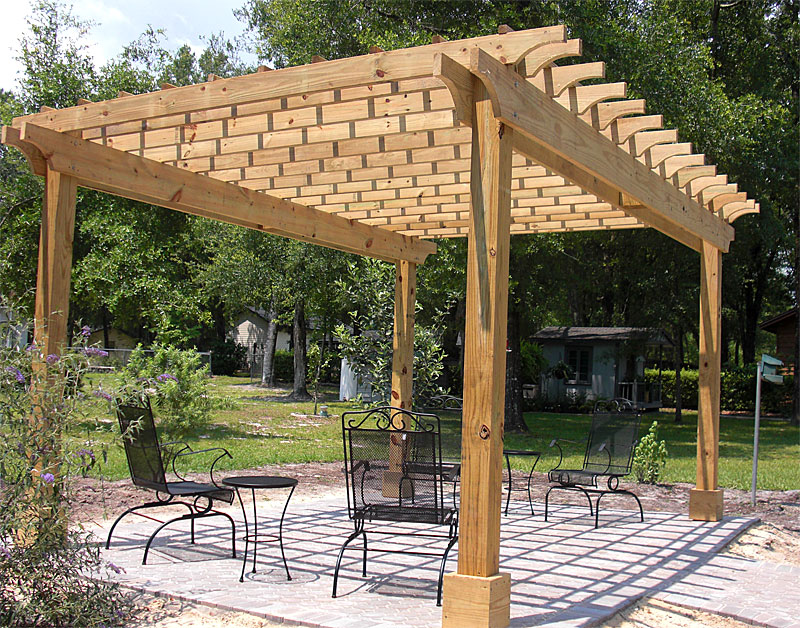 Pergola - Pergolas & Arbors Enhance Pavers, Retaining Walls, Firepits