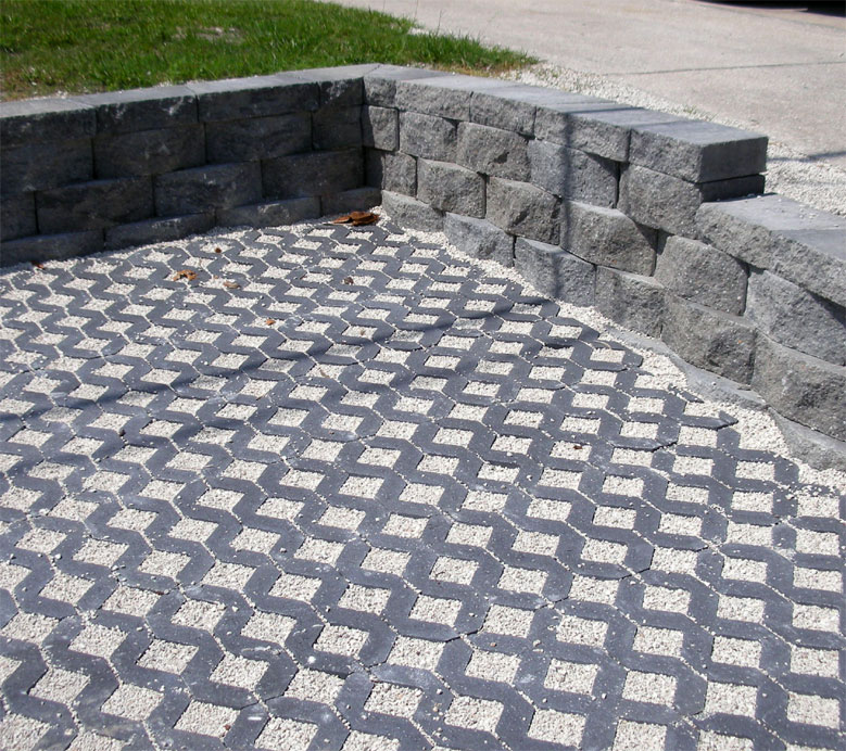 permeable brick pavers | enhance pavers - brick paver installation
