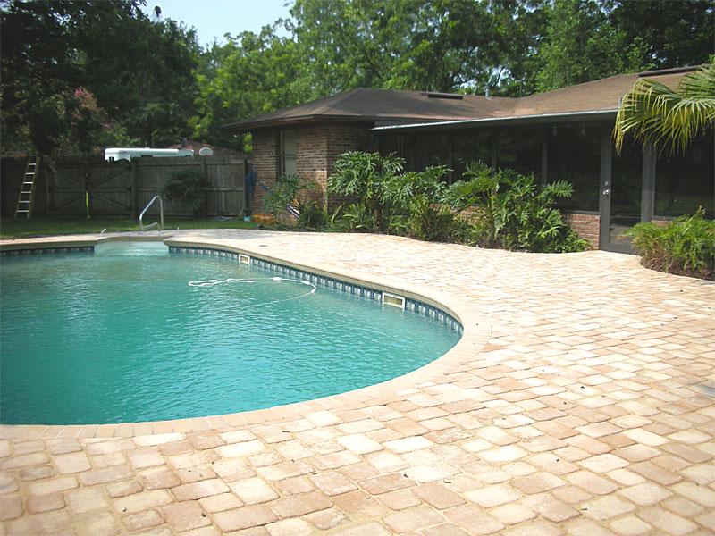 Brick Paver Pool Decks Enhance Pavers Brick Paver