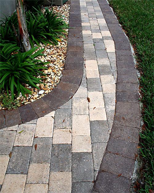 Brick Paver Walkways Amp Sidewalks Enhance Pavers Brick